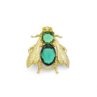 Brosje Smeralda Green