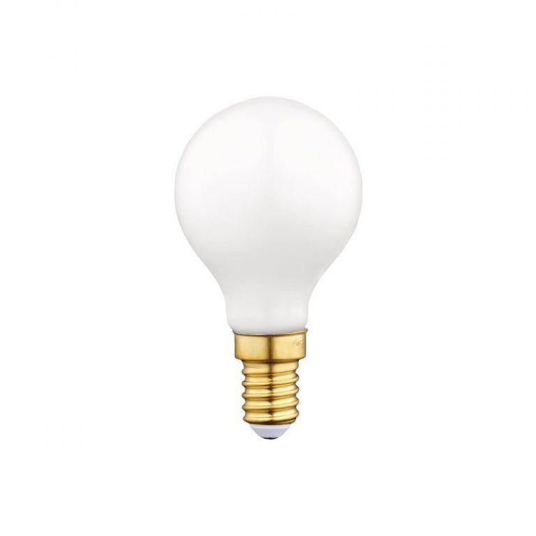 Lyspære Milky Ø45 2,5W LED