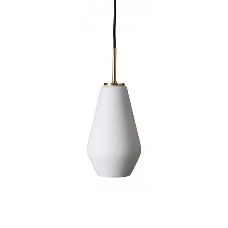 Palazzo Taklampe S Opal/Messing