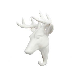 Knagg Hjort Porselen
