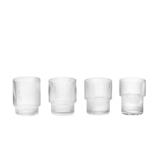 Glass Ripple 4pk