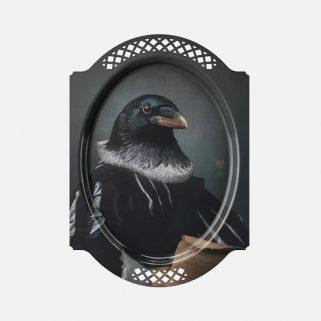 Dekorbrett Le Courbeau