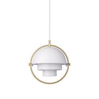 Multi-Lite Small Taklampe Hvit/Messing
