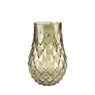 Vase Green Glass S