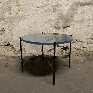 TS Coffee Table Ø55 Sort/Blått
