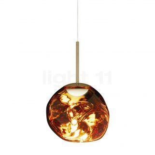 Melt Taklampe LED Gull