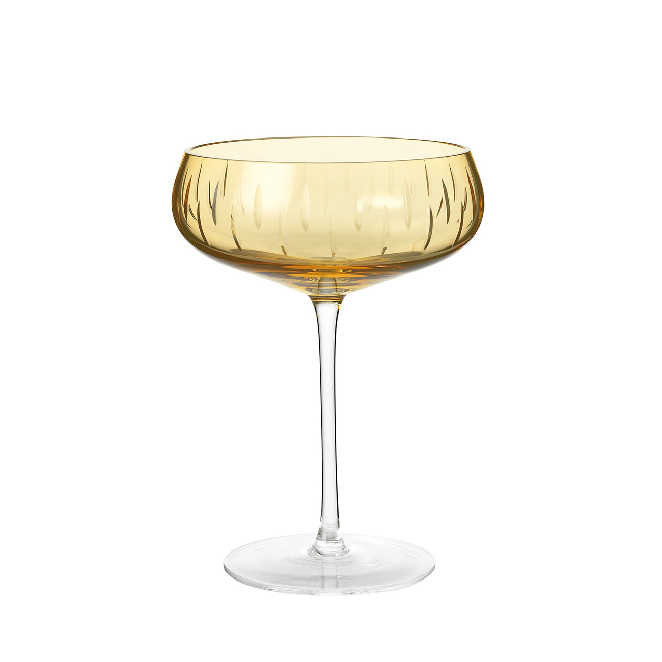 Champagneglass Amber
