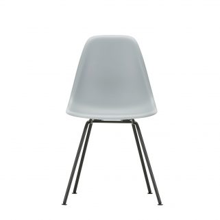 Eames Plastic Side Chair DSX Coated Dark
