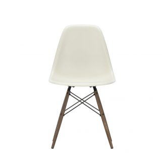 Eames Plastic Side Chair DSW Dark Maple