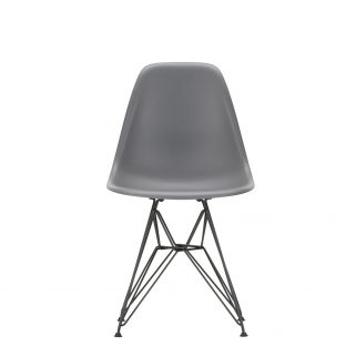 Eames Plastic Side Chair DSR Coated Dark