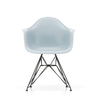 Eames Plastic Armchair DAR Coated Dark