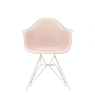 Eames Plastic Armchair DAR Coated White