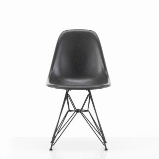 Eames Fiberglass Side Chair DSR Coated Dark