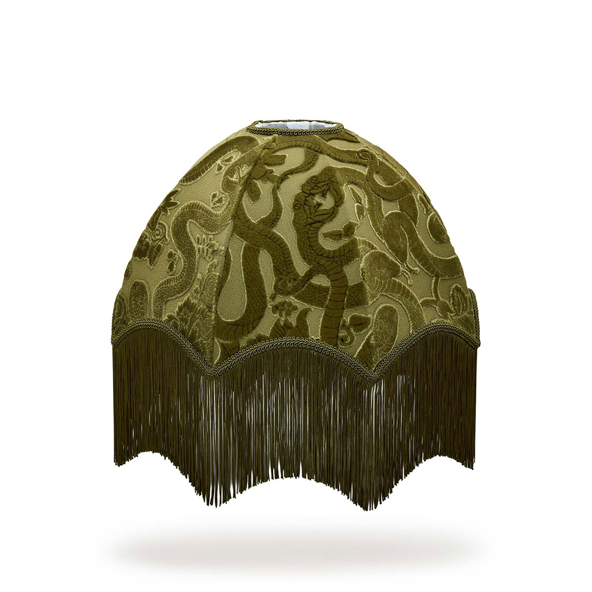 Anaconda Lampeskjerm Olive Green