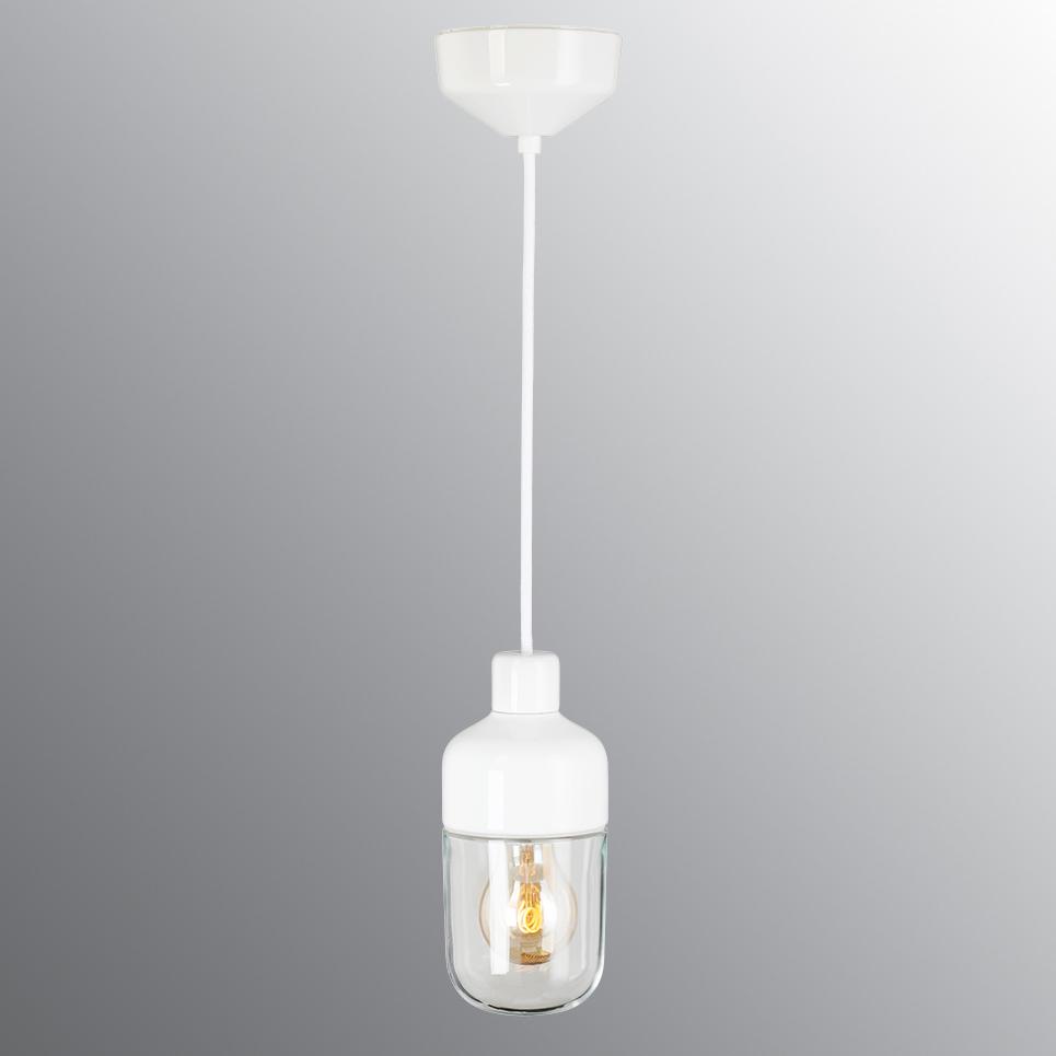 OHM 100/215 Pendel Klart Glass - E27
