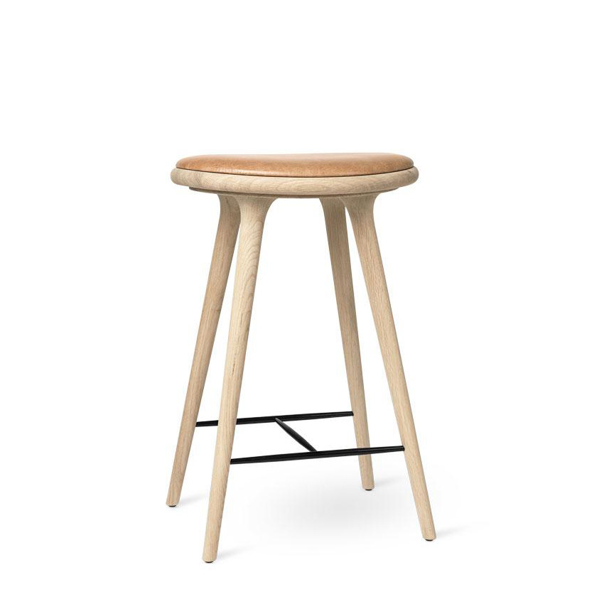 High Stool Barkrakk Soaped Oak