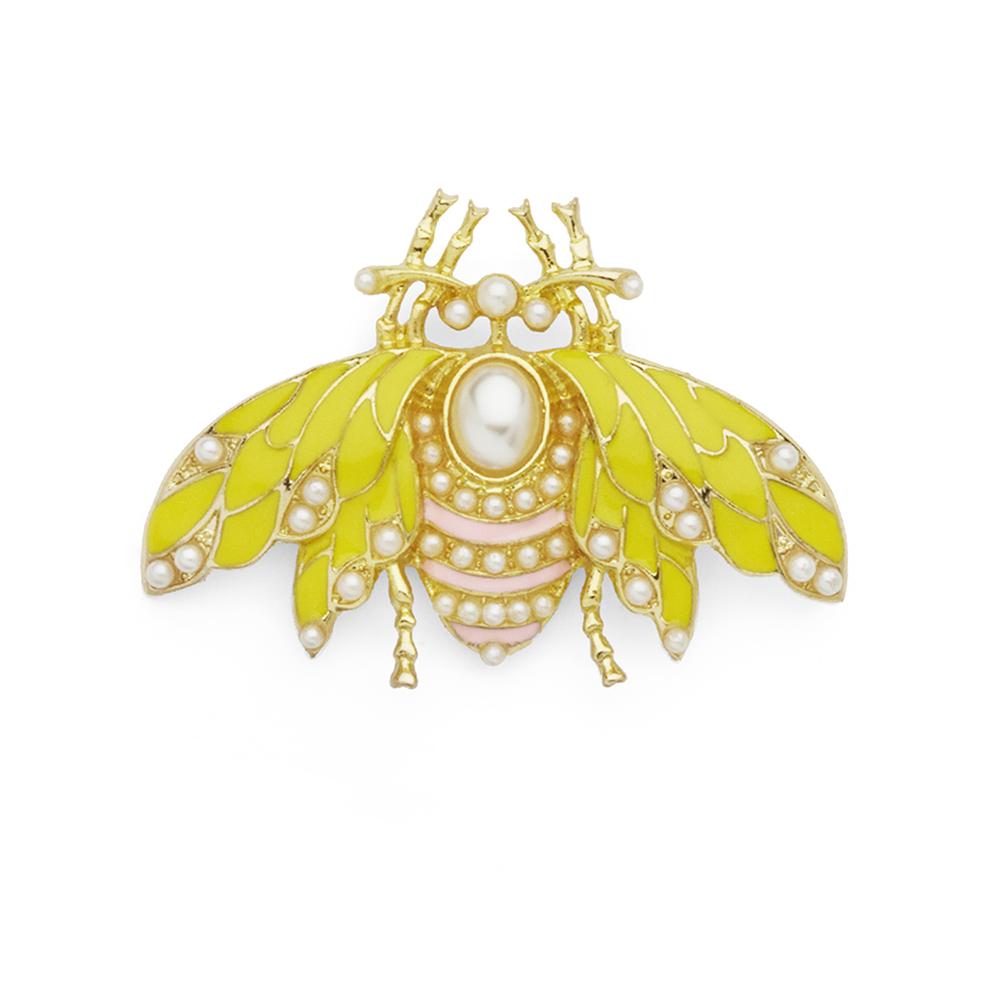 Brosje Asmara Pink & Pearl