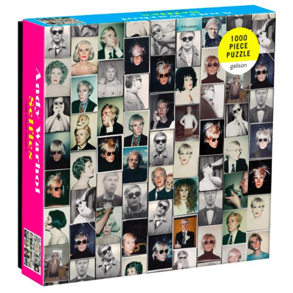 Andy Warhol Selfies Puslespill