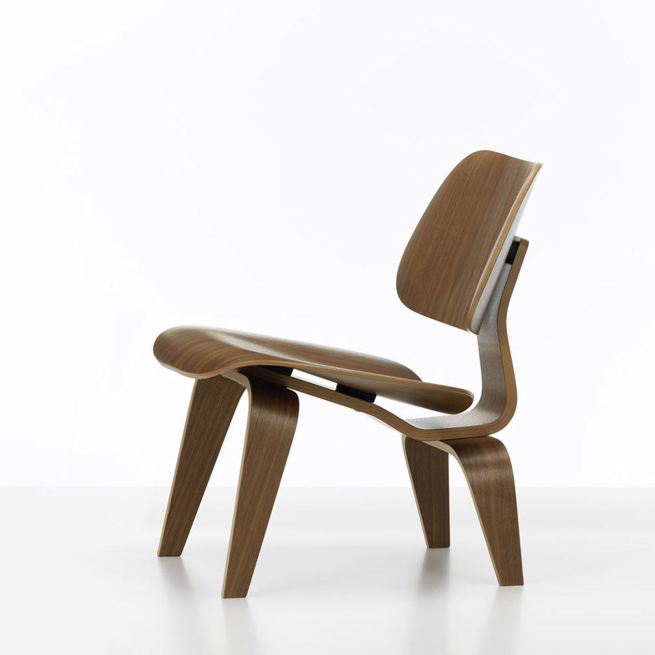 Plywood Lounge Chair LCW Walnut