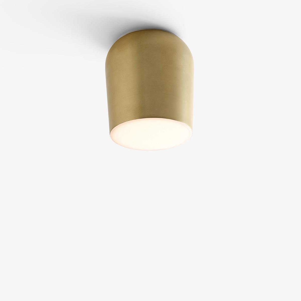Passepartout Tak-Vegglampe JH10 Gull