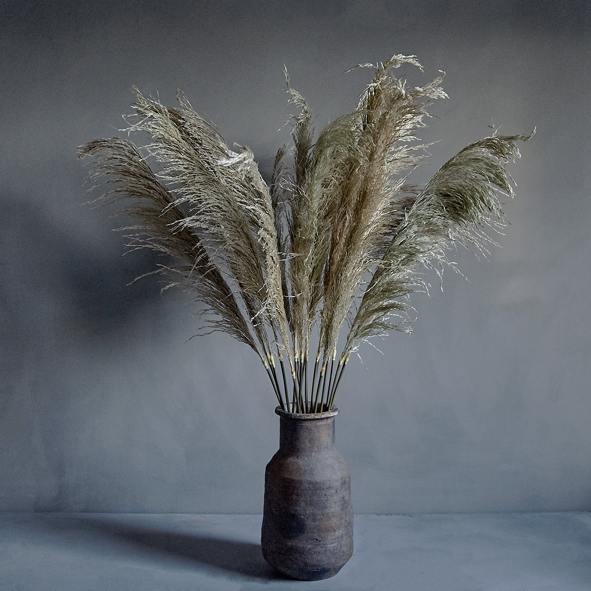 Kunstig Blomst Single Pampas
