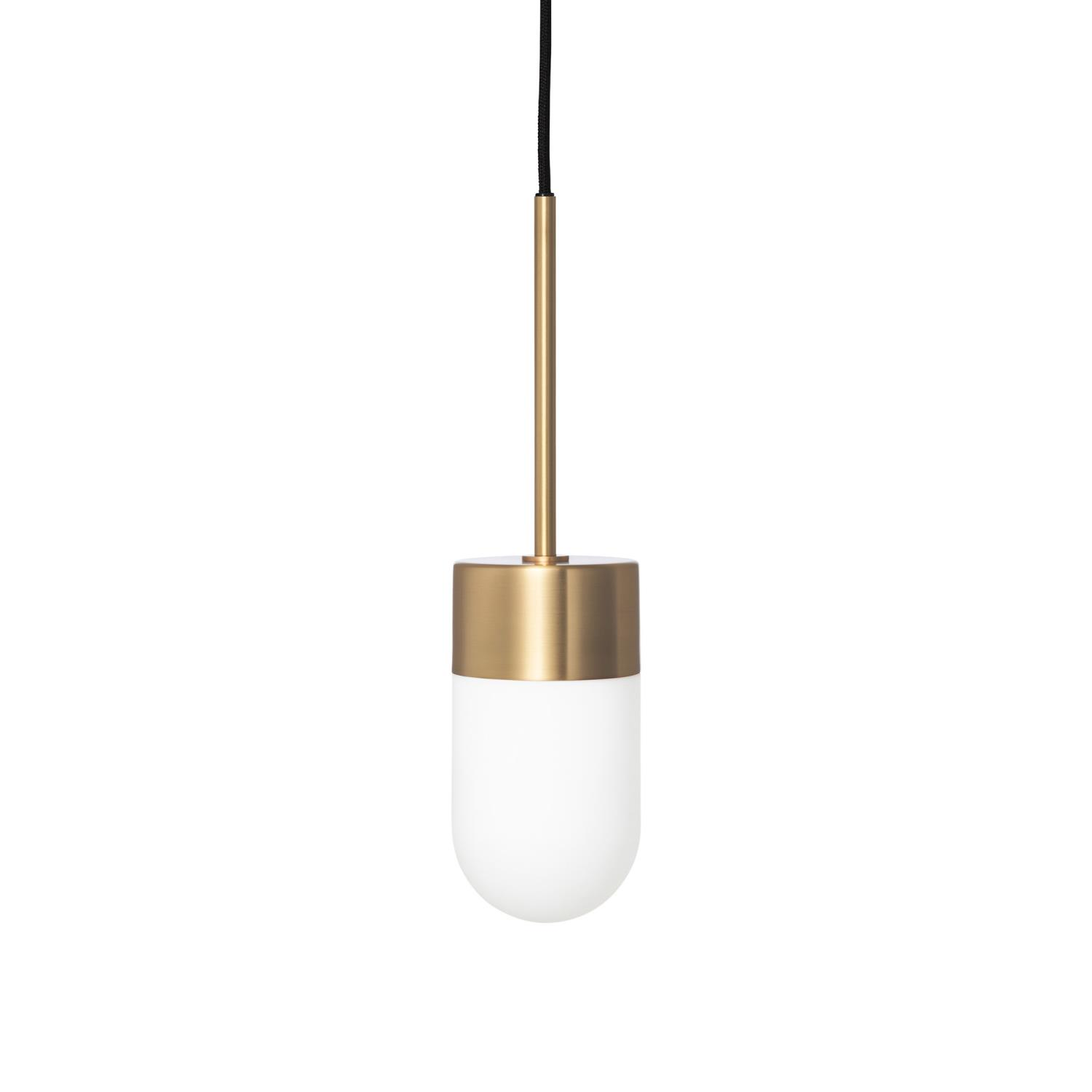 Vox Taklampe Messing/Opal