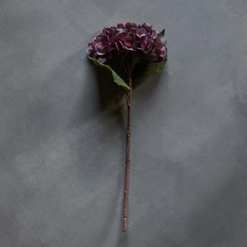 Kunstig Blomst Hydrangea Damson