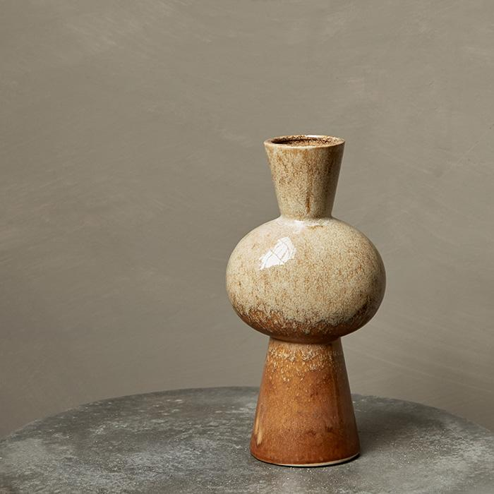 Vase Canali Taupe
