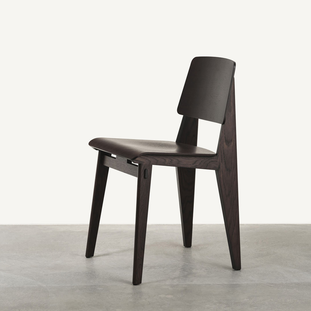 Chaise Tout Bois Chair Dark Oak