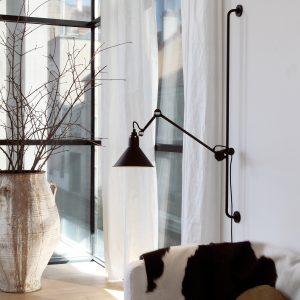 Leselampe lampe gras eske interior designlampe