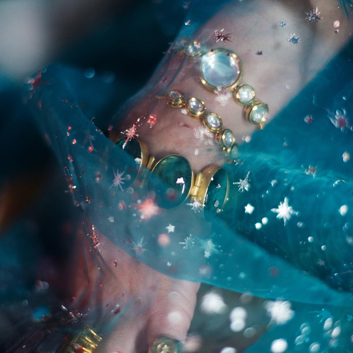 MISS mathiesen smykker øredobber armbånd eske interior