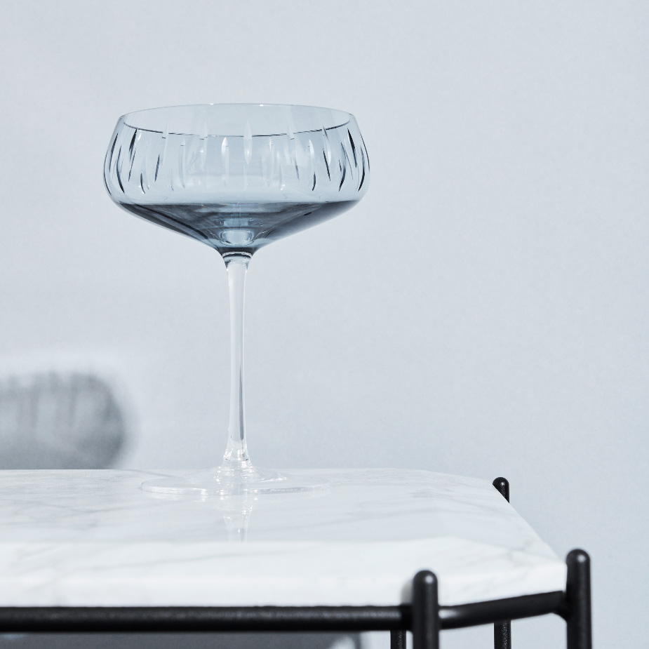 Champagneglass Blue(1)