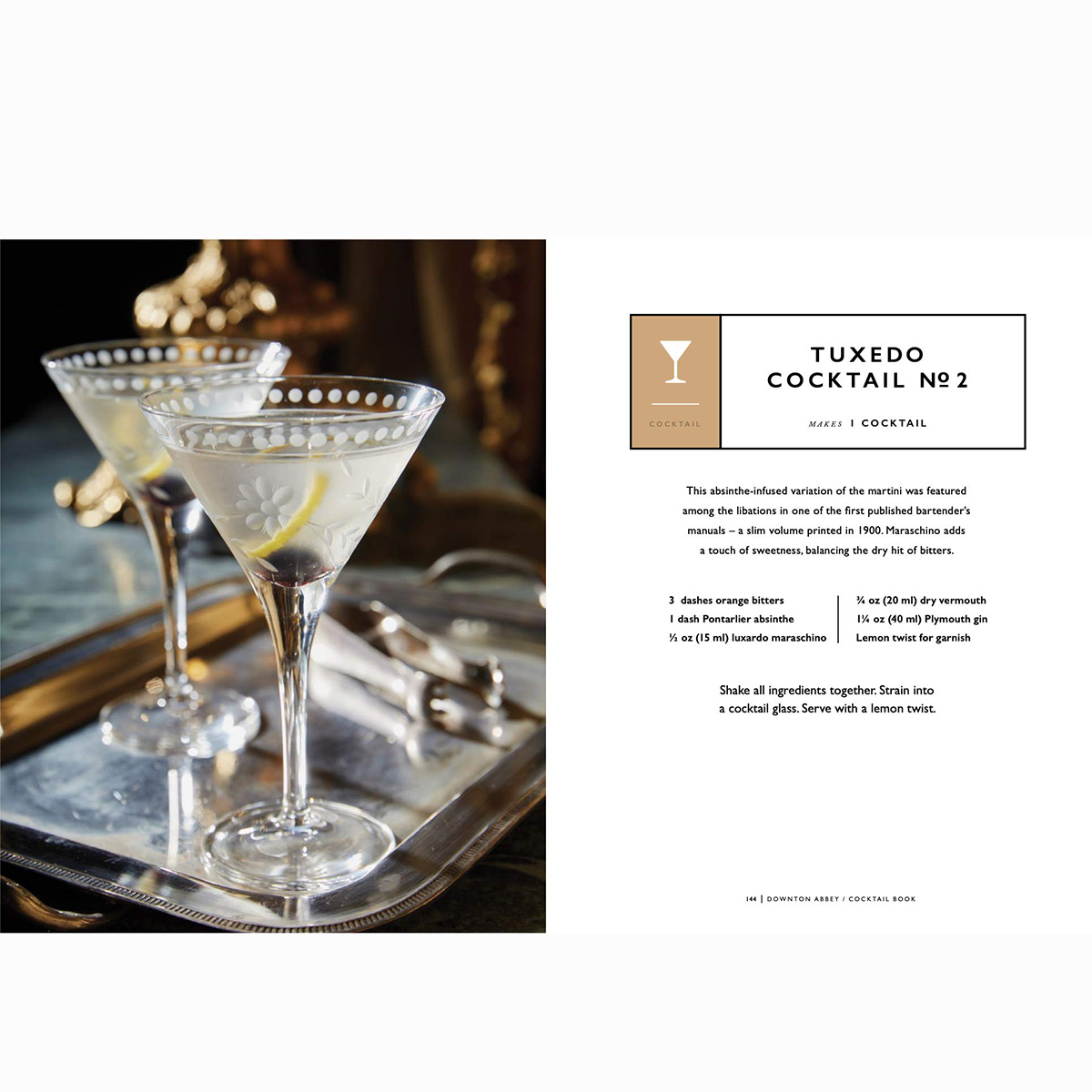 Downton Abbey Cocktail Book(1)