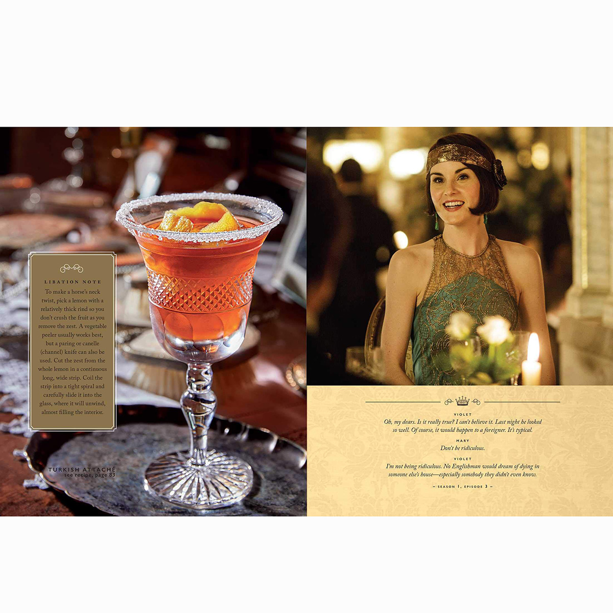 Downton Abbey Cocktail Book(3)