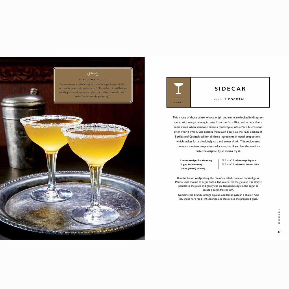 Downton Abbey Cocktail Book(4)