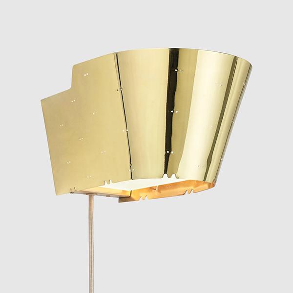9464 Vegglampe Messing
