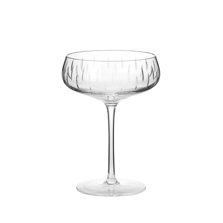 Champagneglass Klar