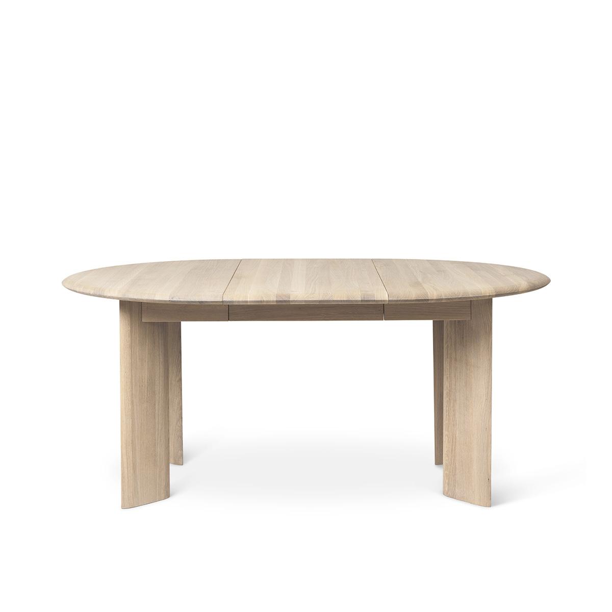 Spisebord Bevel Ø167 Hvit Oljet Eik