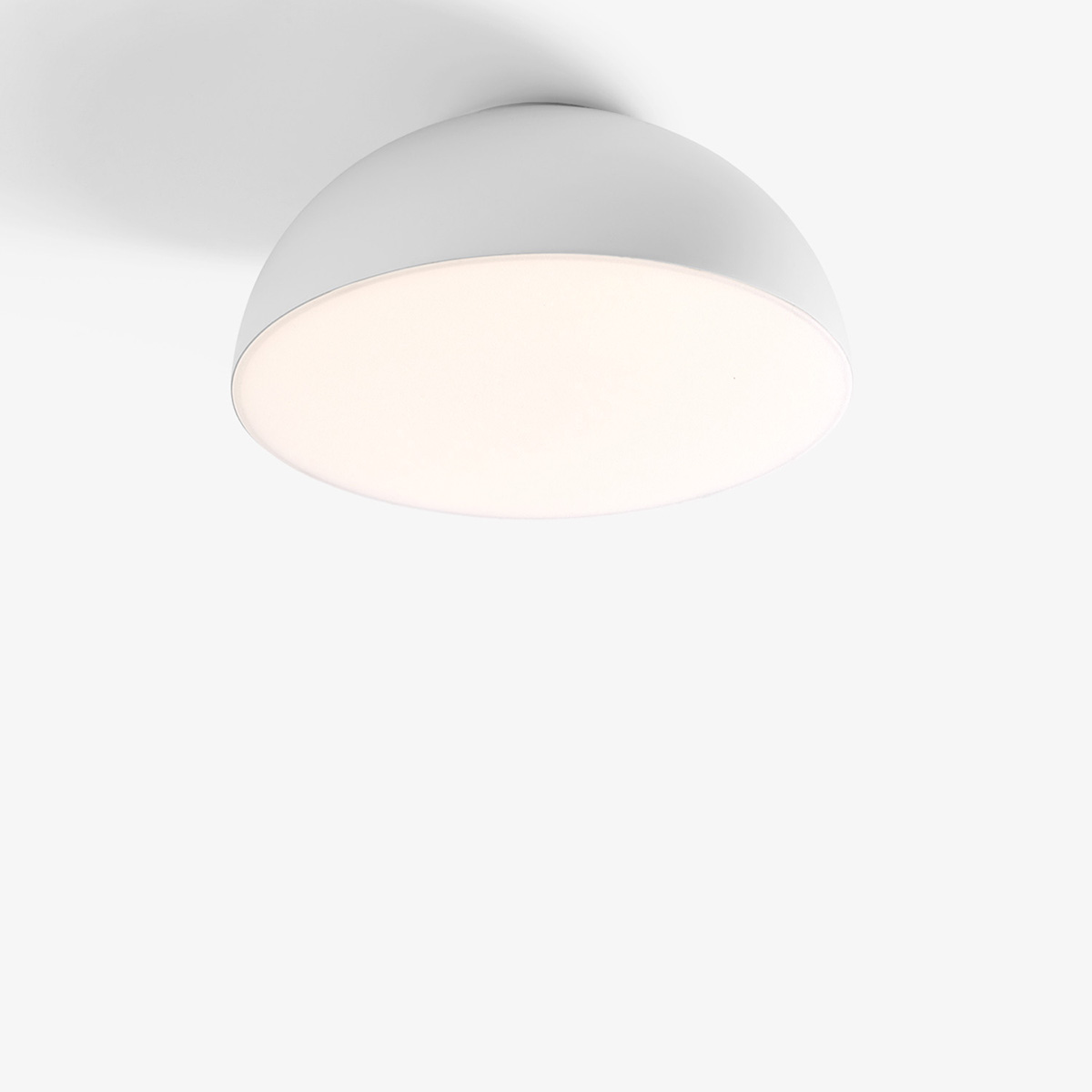 Passepartout Tak-Vegglampe JH12 Hvit