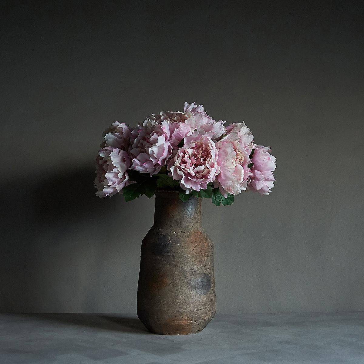 Kunstig Blomst Peony Rouge