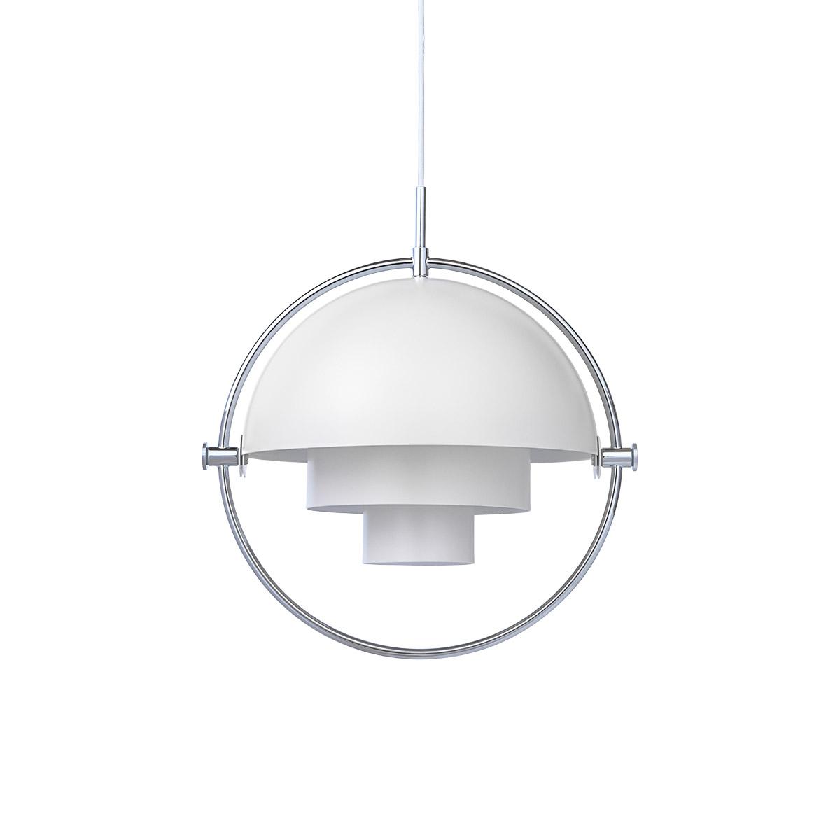 Multi-Lite Taklampe Hvit/Krom