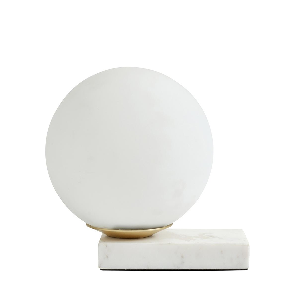 Bordlampe Enyo Matt Hvit/Marmor