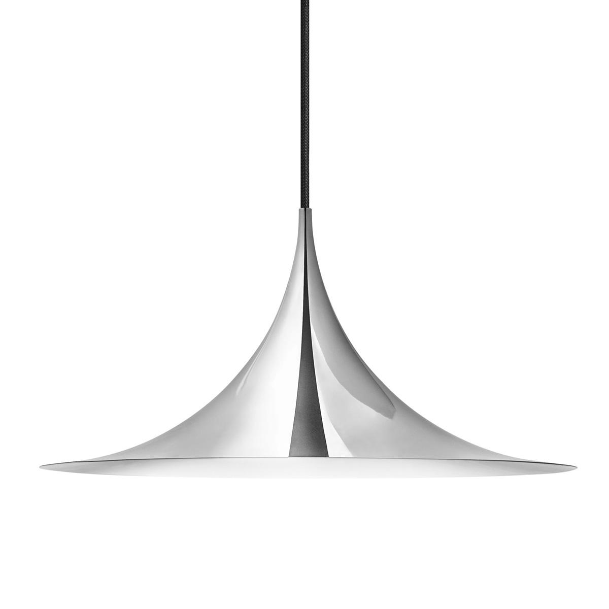 Semipendel Taklampe Ø60 Krom
