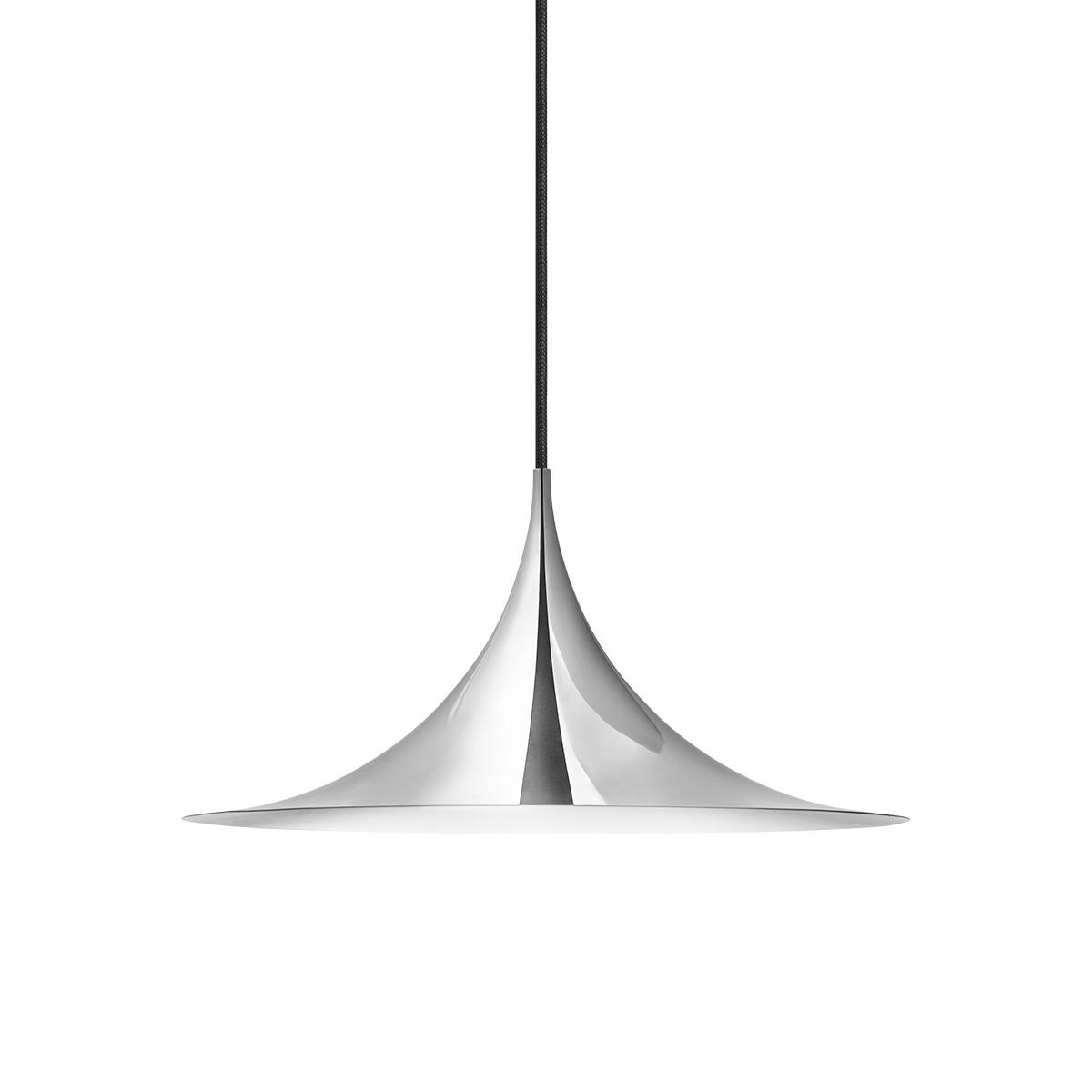 Semi Pendel Taklampe Ø47 Krom