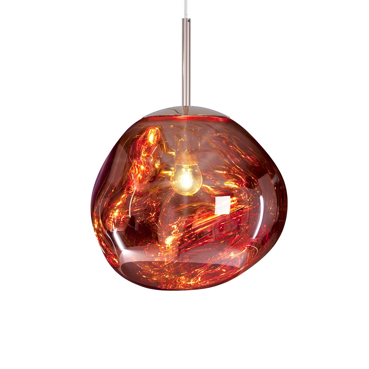 Melt Mini Pendel LED Kobber
