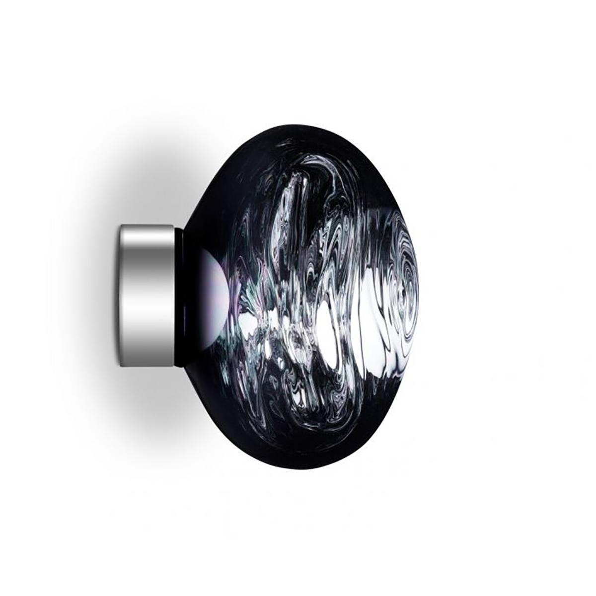 Melt Mini Vegg- /Taklampe LED Smoke