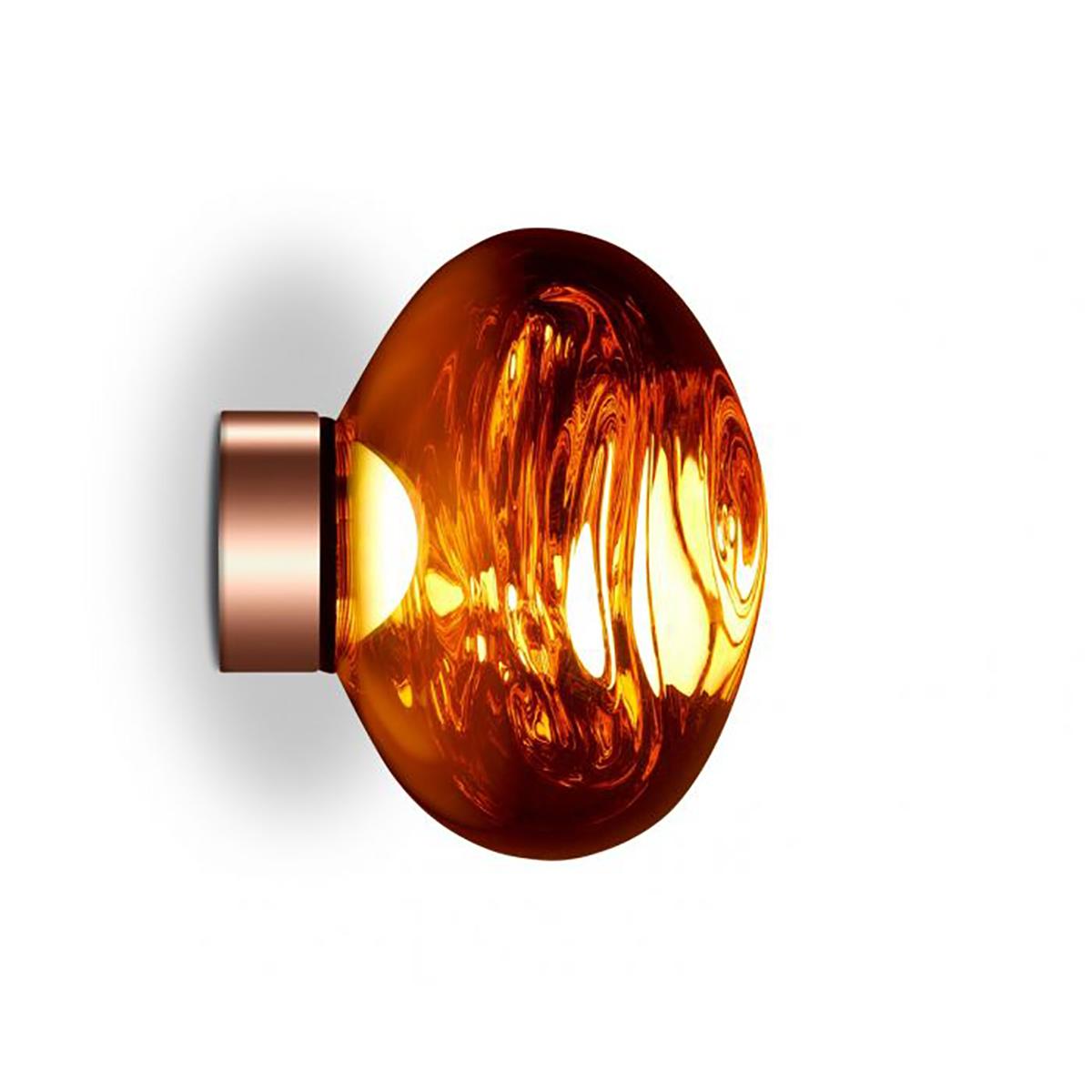 Melt Mini Vegg- /Taklampe LED Kobber