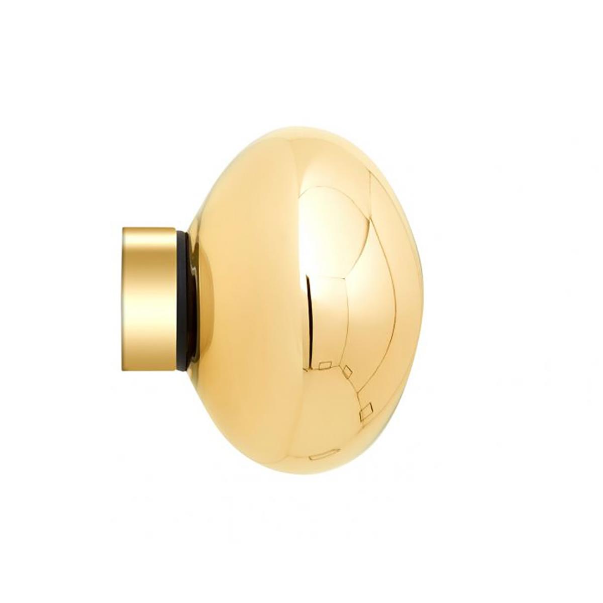 Melt Mini Vegg- /Taklampe LED Gull