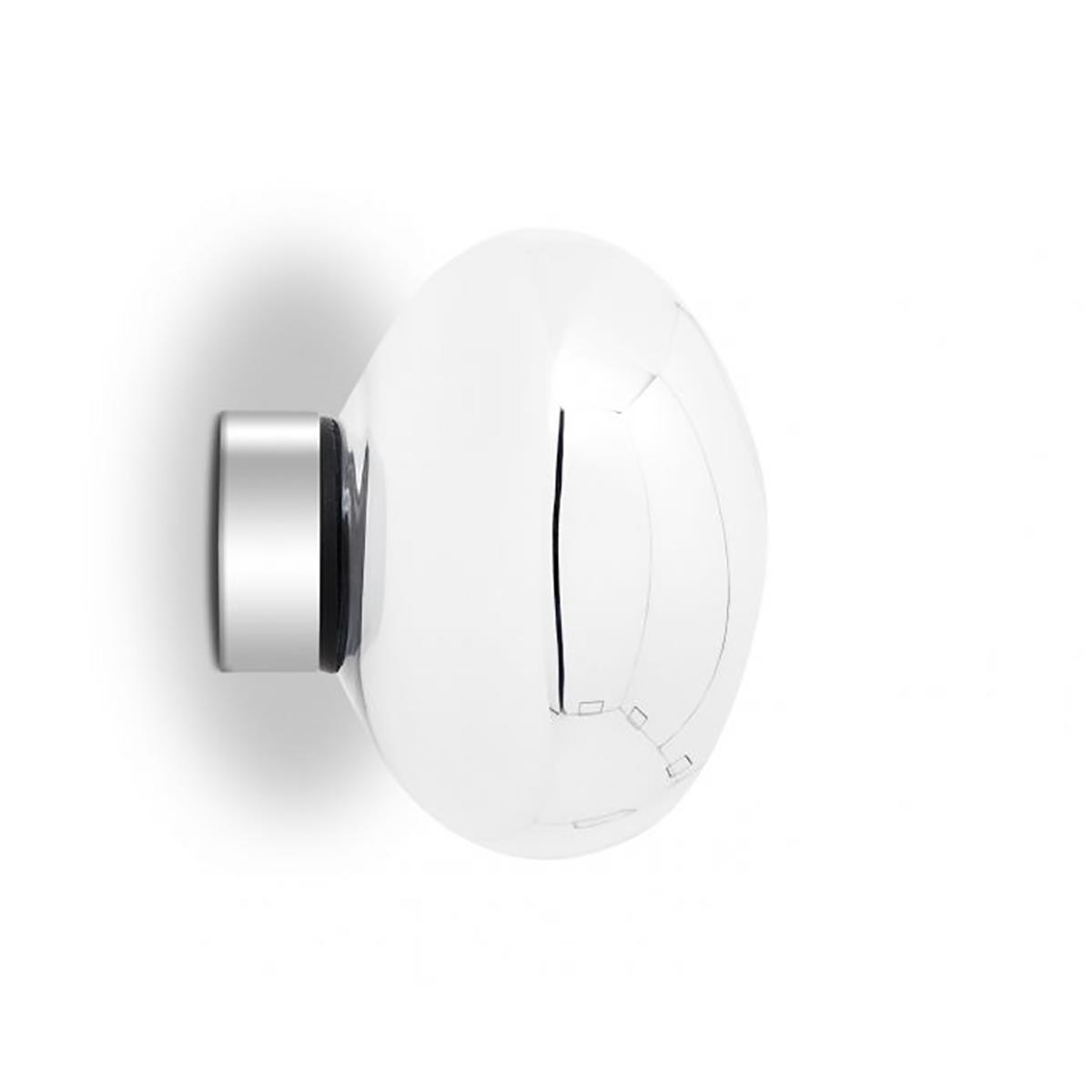 Melt Mini Vegg- /Taklampe LED Krom