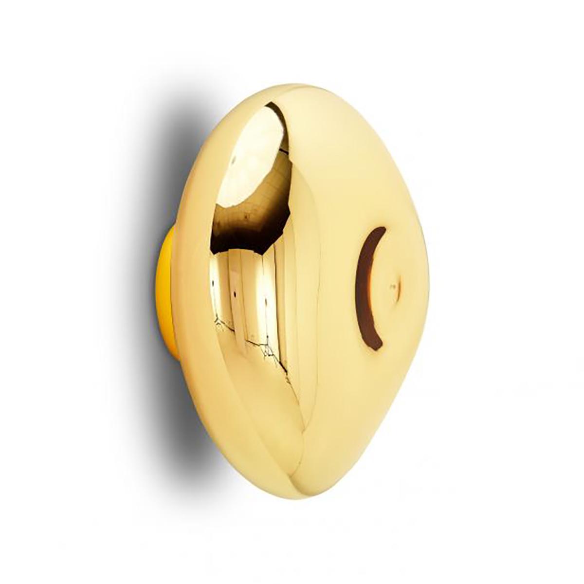Melt Vegg- /Taklampe LED Gull